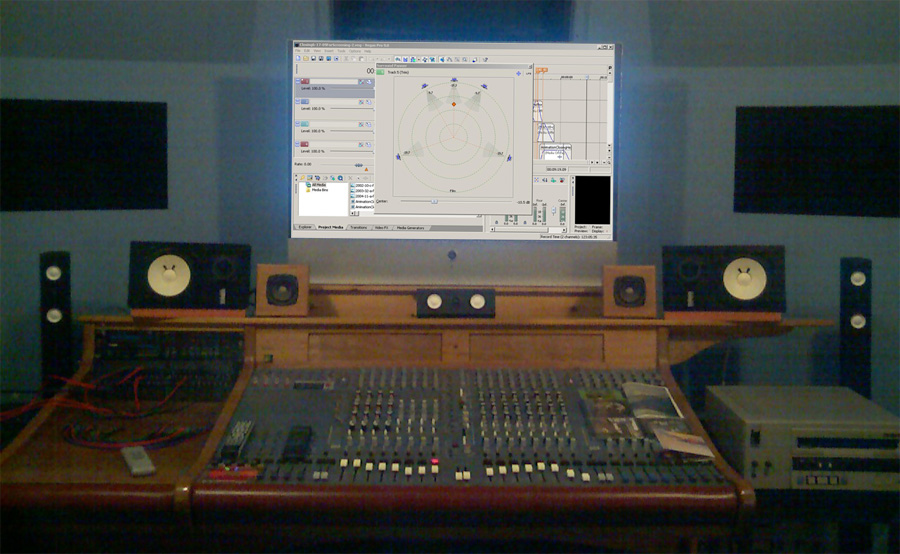 Surround Playback System (Control Room)